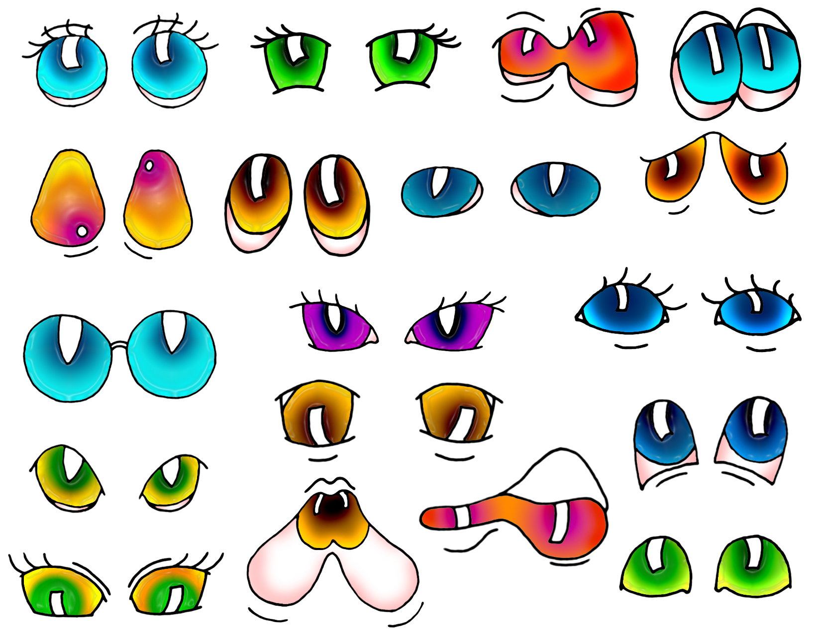 Index Of Cartoon Steps Jepg Animal Heads Mix Match