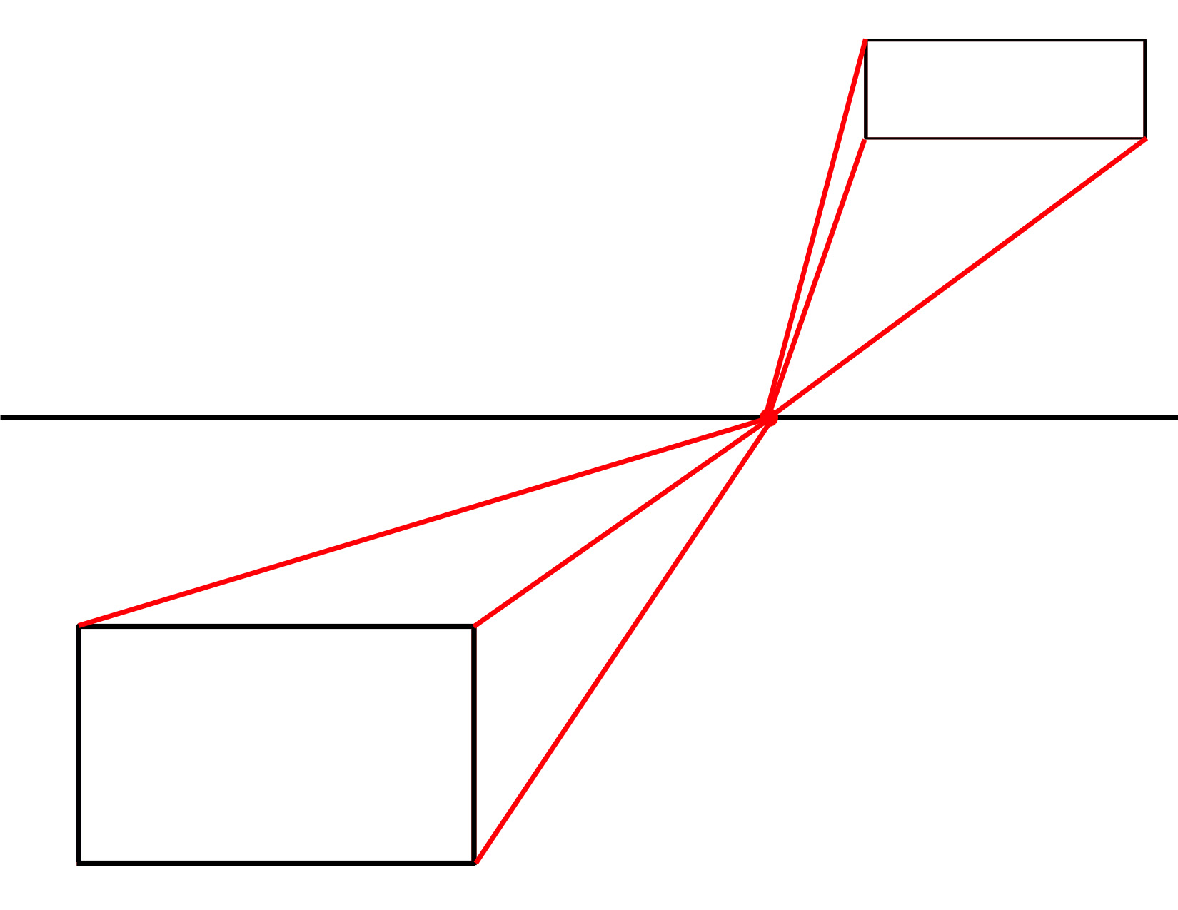 how to draw a box in any perspective