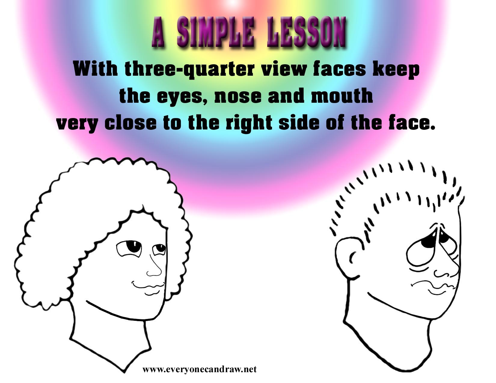 Facing Right 34 Simple Lesson