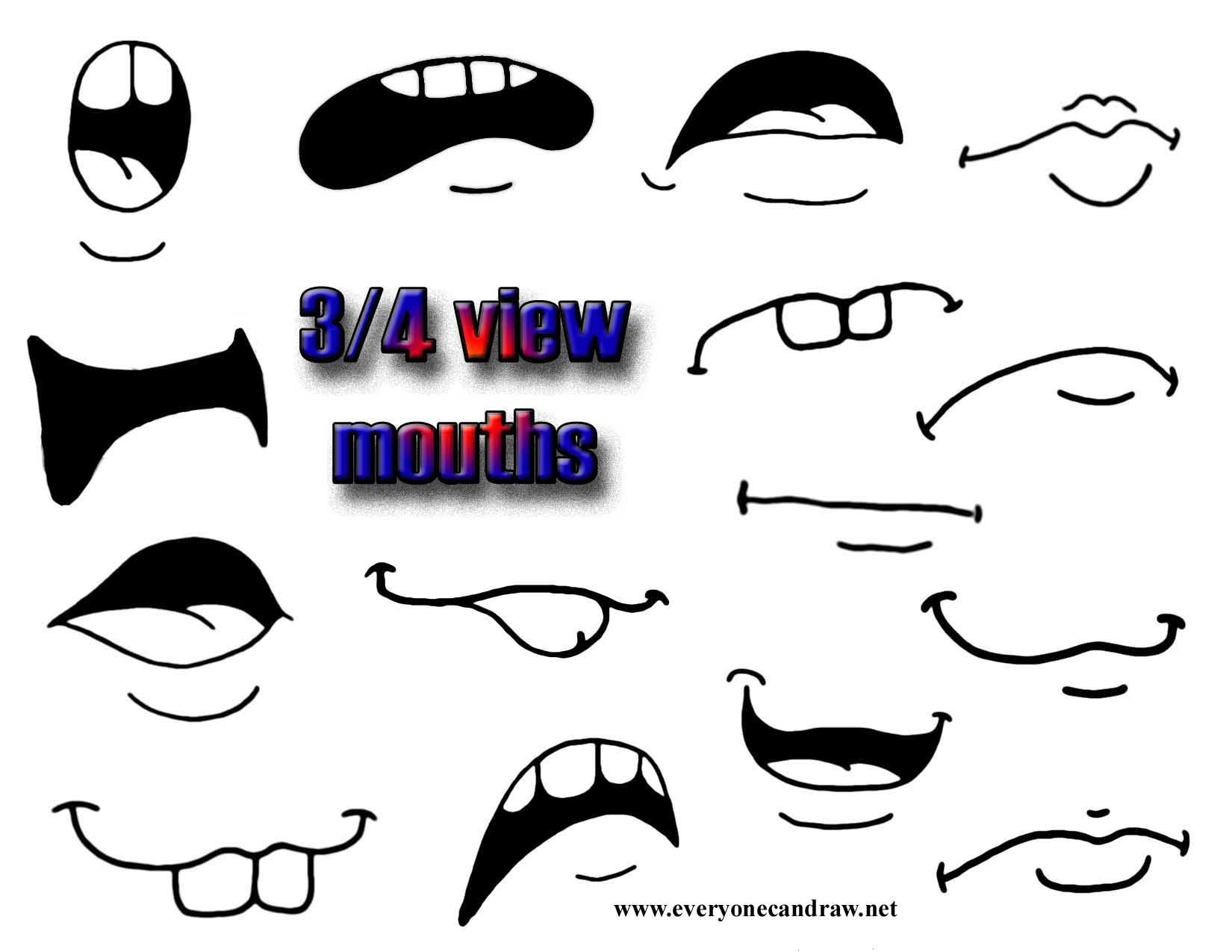 34 view mouths