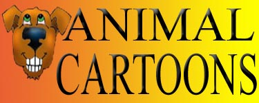 Buttons cartoons horizontal animal